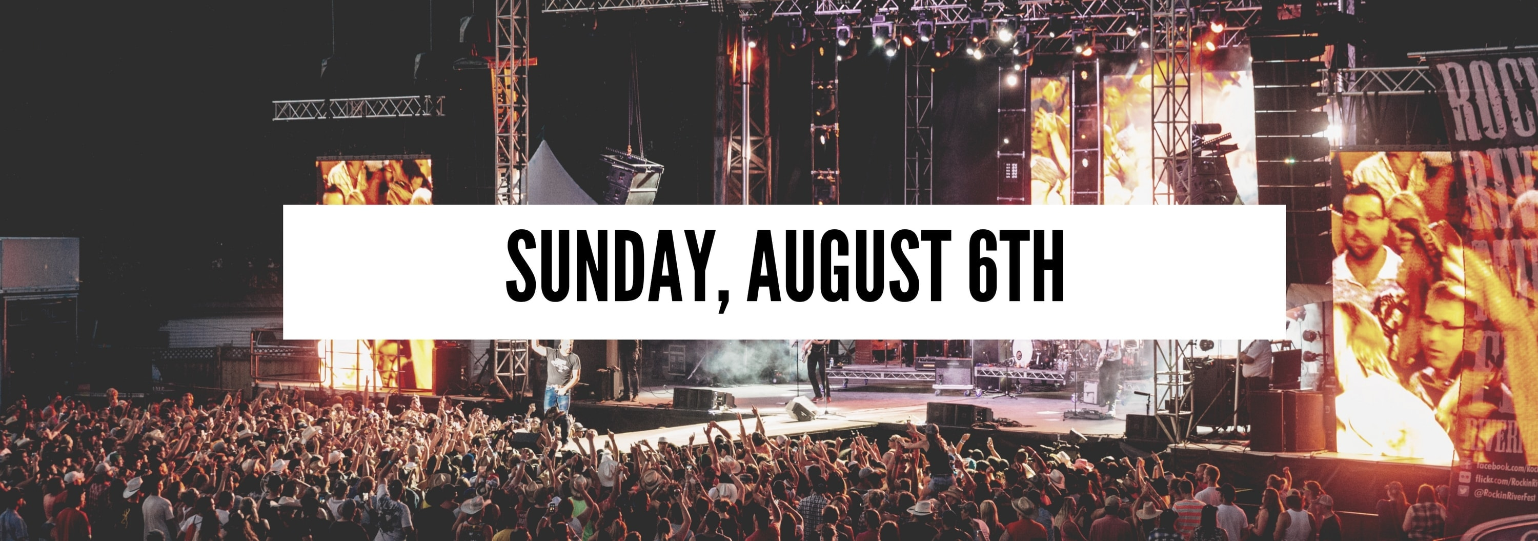Sunday August 6th